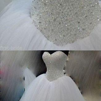 Wedding Dresses New White/Ivory Bea..