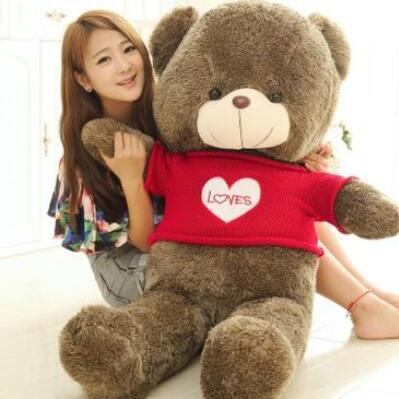 teddy bearSweater bear plush toy be..