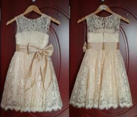 Lace Girl Dress Bapt..