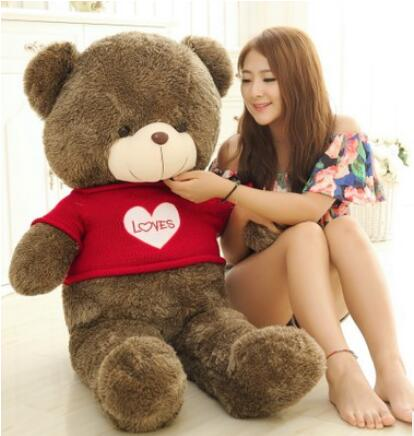 teddy bearSweater bear plush toy bear doll doll doll Tactic