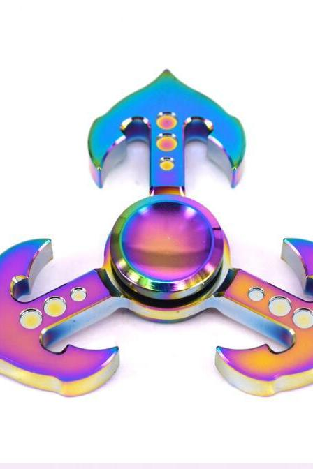 Colorful interrogator gyro decompression toys