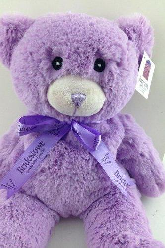 Australia Lavender Bear ,Bridestowe Lavender Heat Bear, Teddy Bear Plush Toys, Purple Bear By Junior Partner