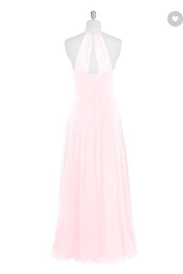 Bridesmaid chiffon dress