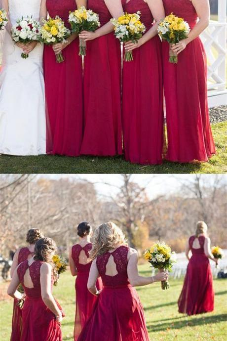 bridesmaid dresses long,lace bridesmaid dresses,open back bridesmaid dresses,elegant bridesmaid dresses