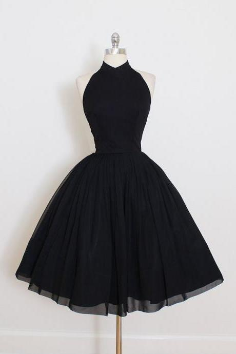Simple Homecoming Dresses,Cheap Homecoming Dress,Halter Homecoming Dresses Cocktail Dresses