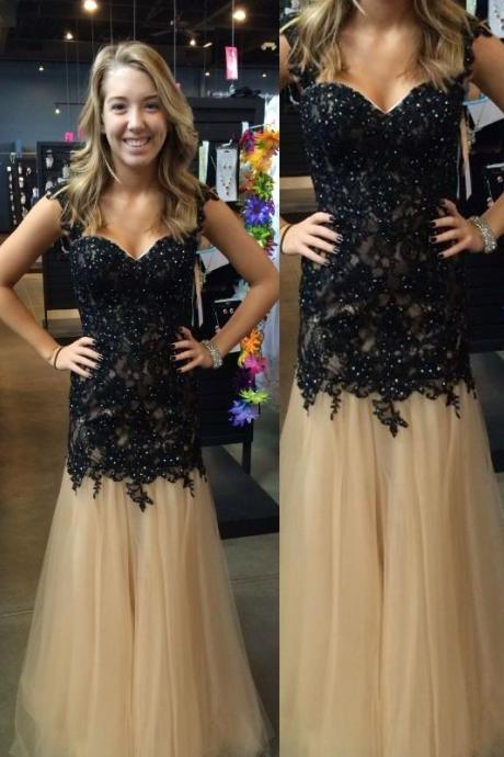 new hot prom dresses tulle party dresses Prom Dresses, Discount Prom Dresses, Long Prom Dresses, Sweetheart Prom Dresses, Dresses For Prom dresses
