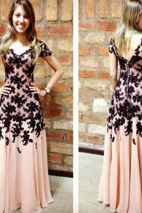 hot new Prom Dresses chiffon Party dresses and bank lace A sexy evening dress bridesmaid dress special leak back