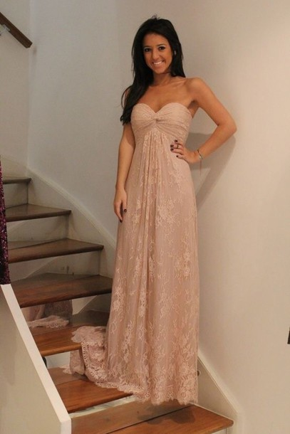 Handmade Tulle Sweetheart Bust Long Prom Dress, Long Prom Gown 2015, Lace Prom Dresses, Off the Shoulder Evening Dresses